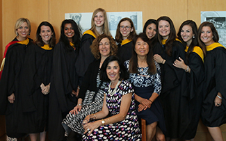 Students and faculty class 2017