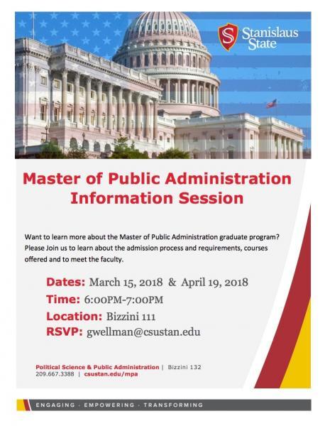 MPA Info Session Image