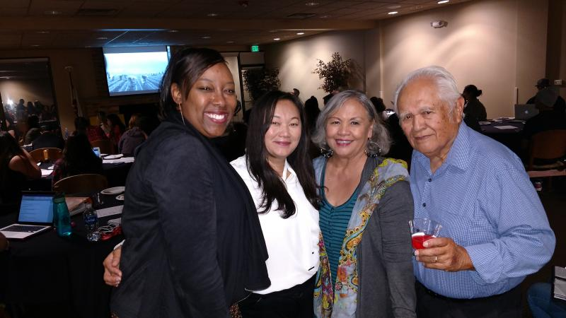 group picture at Filipino American National Historical Society