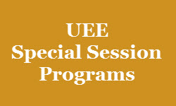 UEE Special Session Programs