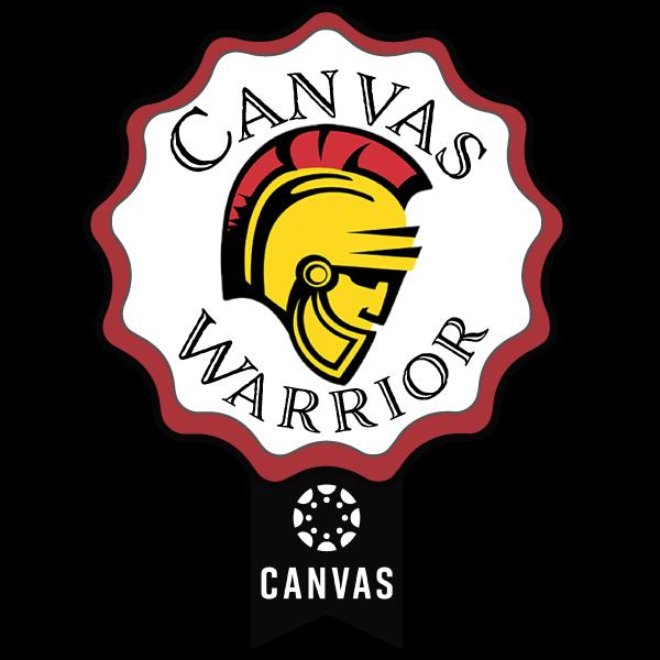 Canvas Warrior Badge 2020