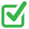 Green Check box