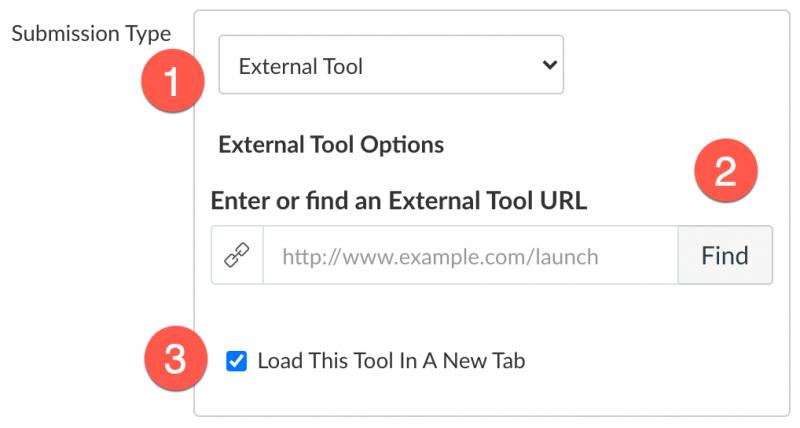 Padlet configure external tool