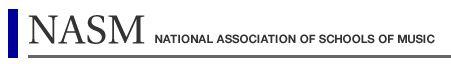 National Association of Schools of Music (NASM)