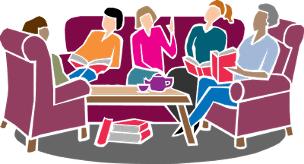 clip art of book club