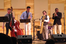 Jazz group performs