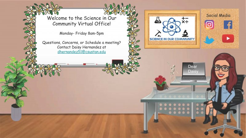 Daisy's virtual office