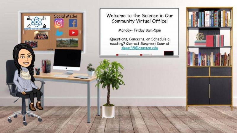 Sunpreet's virtual office