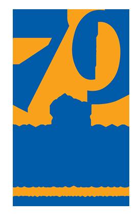 Human Rights logo - 70 years #standup4humanrights