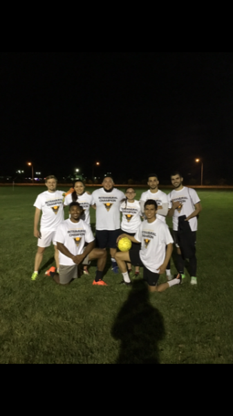 Co-Rec Soccer champions Kankle Breakers