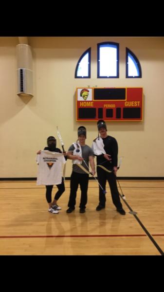 Co-Rec Archery Tag Tournament Champions Team One