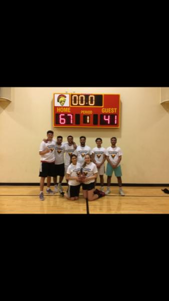 Co-Rec Basketball Champions Super Saiyan Hoopers