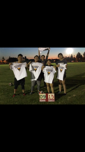 Co-Rec Outdoor Volleyball Champions Unstoppable