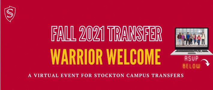 Stockton Warrior Welcome RSVP Below