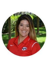 Headshot of Alissa Aragon. Assistant Athletics Director for Student Sucess. Senior Woman Administrator.