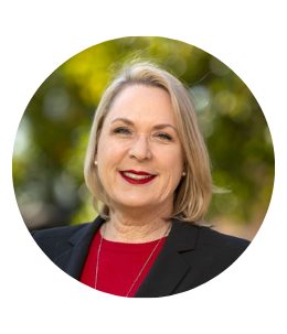 Headshot of Associate Vice President for Student Affairs and Dean of Students, Dr. Heather Dunn Carlton