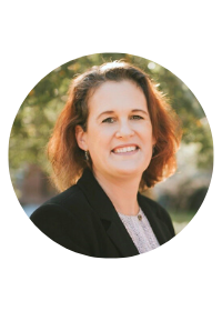 Headshot of Executive Director for Career & Professional Development Center. Julie Sedlemeyer.