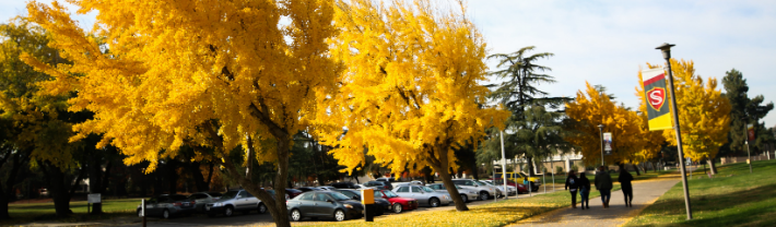 Campus in fall season.