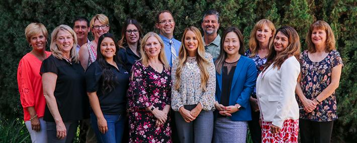 Group Portrait of the Department of Teacher Education