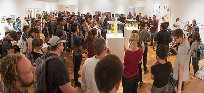 a popular exhibition at UAG.