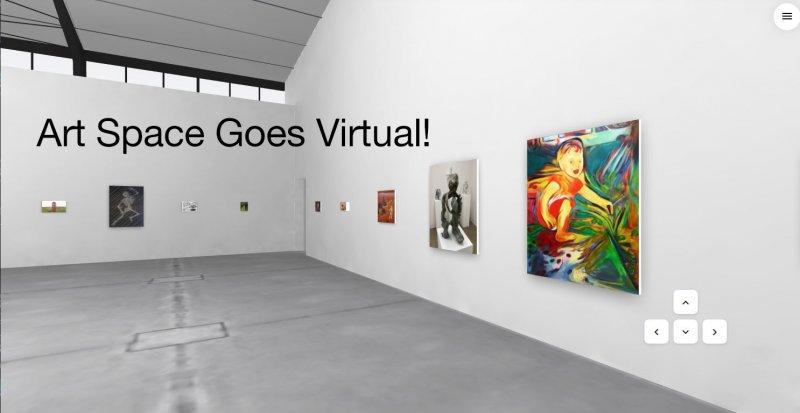 virtual gallery example