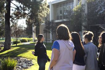 tour of campus