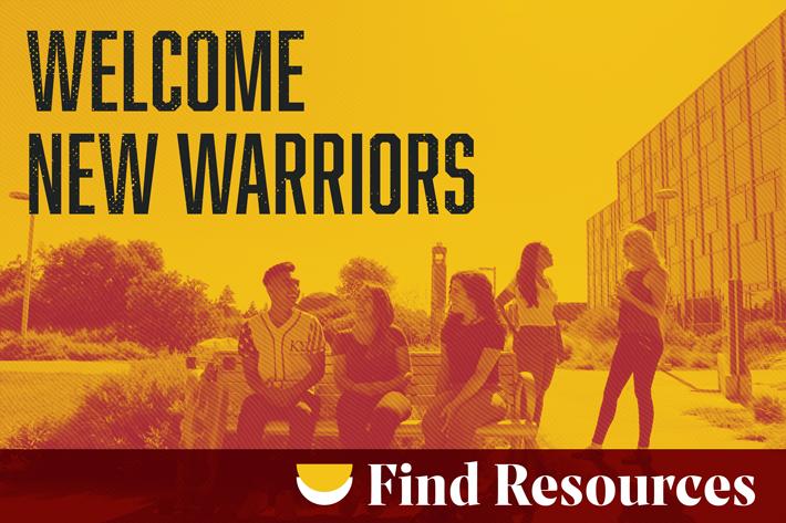 Welcome new Warriors