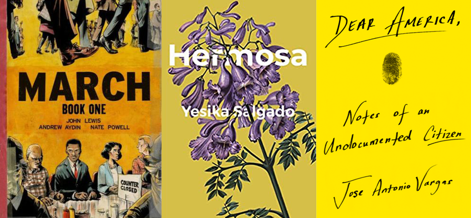Book Covers of March Book One, Hermosa, Dear America
