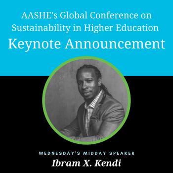 AASHE Conference keynote speaker Ibram X. Kendi