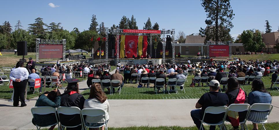Stan State graduates