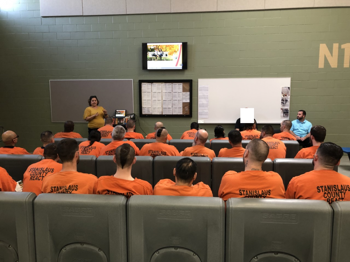 Presentation at Stanislaus County Jail, REACT Facility