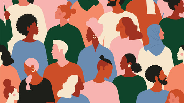 Animation of individuals.