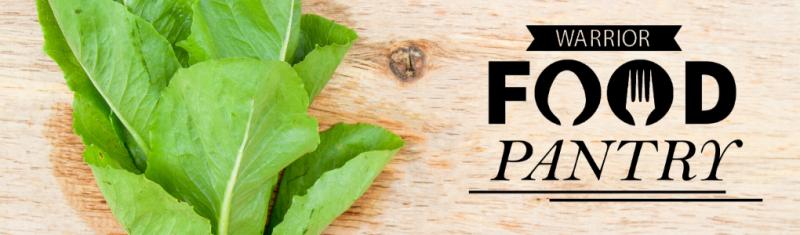 Radish leaves. Warrior Food Pantry logo.
