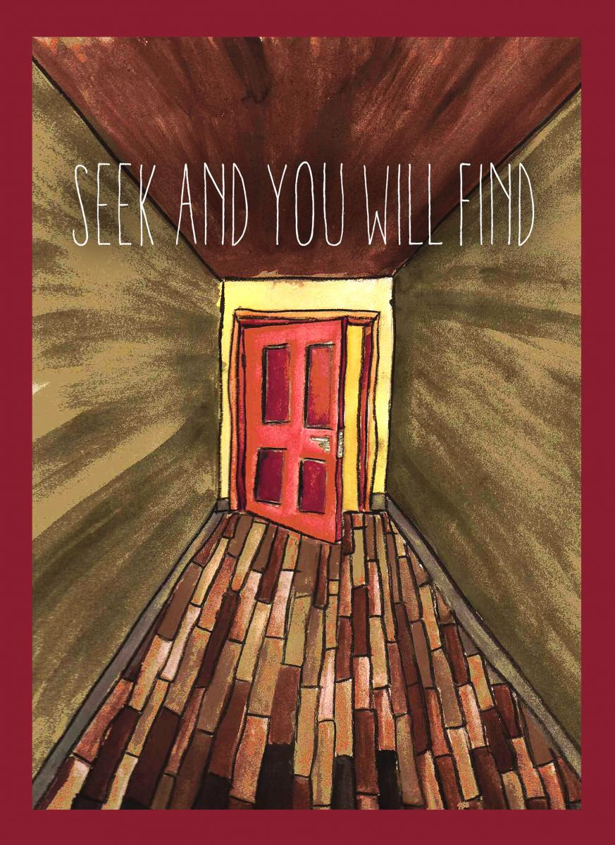 Seek and You Will Find Journal Cover