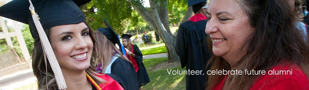 Commencement volunteer