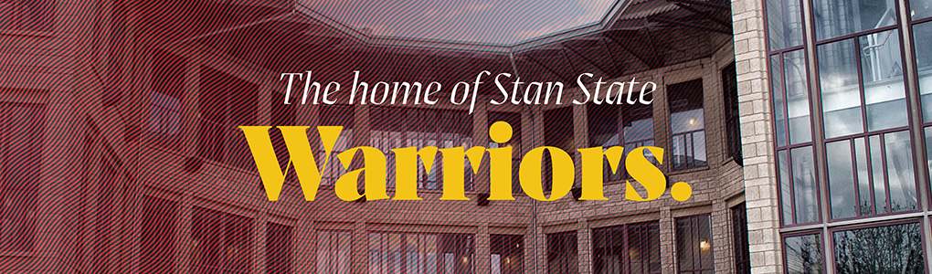 The home of Stan State Warriors.