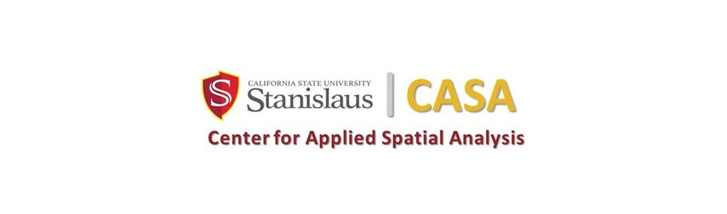 Center for Applied Spatial Analysis banner