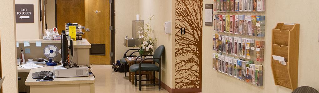 Student Health Center Hallway