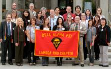 Group of Lambda Rho members