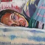 Painting called Elizabeth Ruvalcaba Numb
