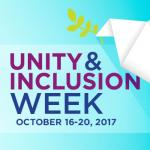 Unity & Inclusion Week, October 16-20, 2017