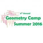 6th Annual Geometry Camp 2016