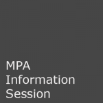 MPA Information Session