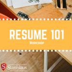 resume 101 workshop