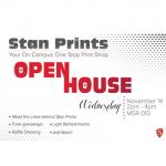 Stan Prints open house