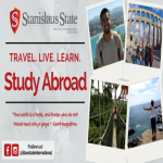 Stanislaus state, travel. live. learn. Study abroad. The world is a book, and those who do not travel read only a page - Saint Augustine