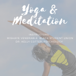 Yoga and meditation