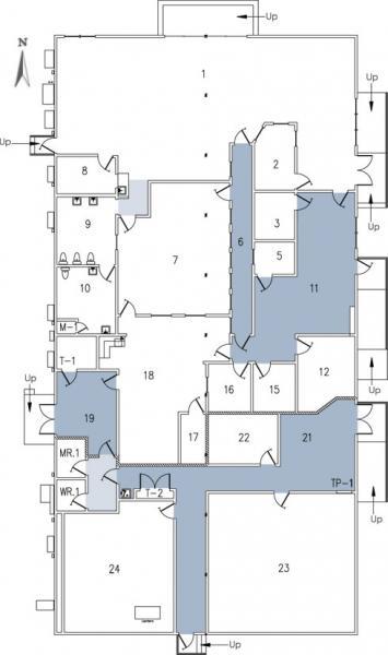 Educational Services building floor plan