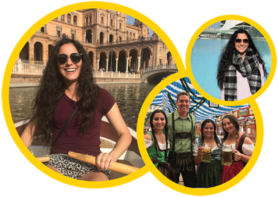 Study Abroad Ambassador Juliana Aguiar was able to visit several countries during her first semester studying in Spain.
