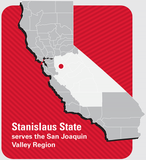 Stanislaus State serves the San Joaquin Valley Region